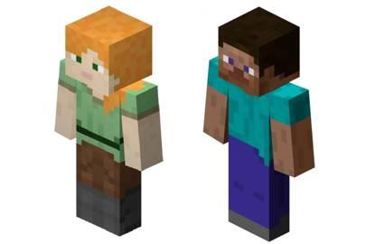 Minecraft Addresses Gender Gap With Free Alex Update Wired Uk