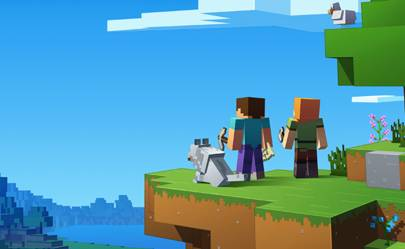 Minecraft update lets you play across Xbox, PC and mobile | WIRED UK