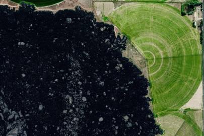Volcanic farm