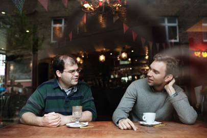 Jack Waley-Cohen and Chris Sheldrick