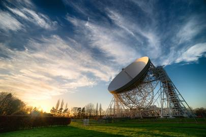 Lovell Telescope at Jodrell Bank