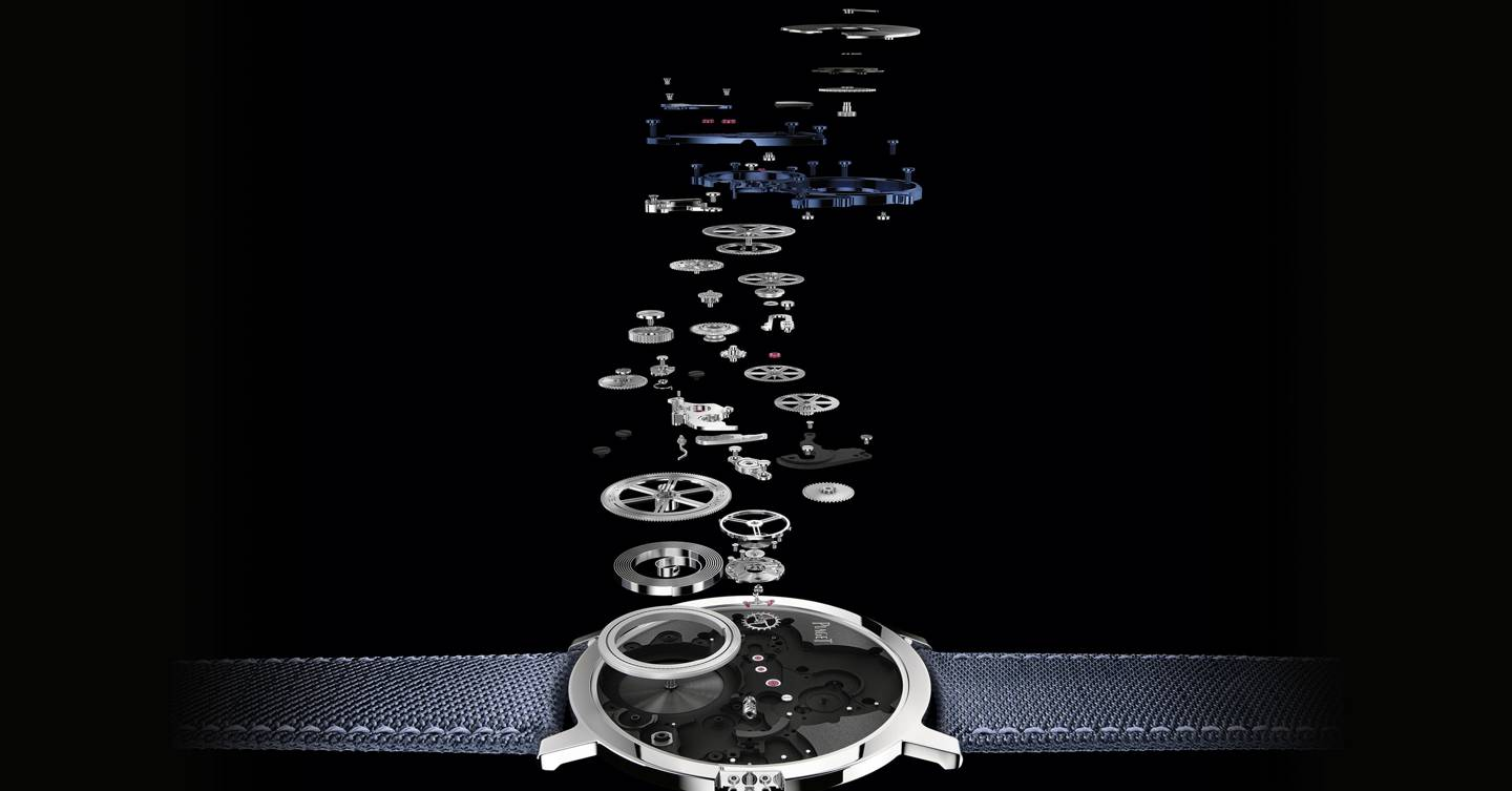 The incredible inner workings of the world's thinnest watch