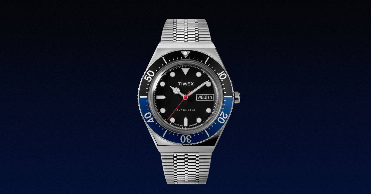 Timex's £249 automatic diver is our watch of the month