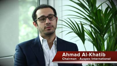 Auspex International chairman Ahmad Al-Khatib