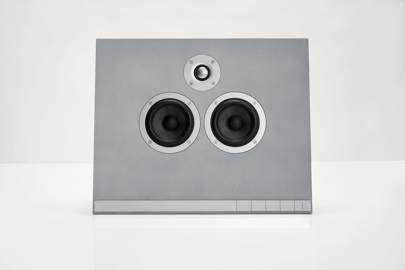 Concrete speakers for your next mixer by Master & Dynamic