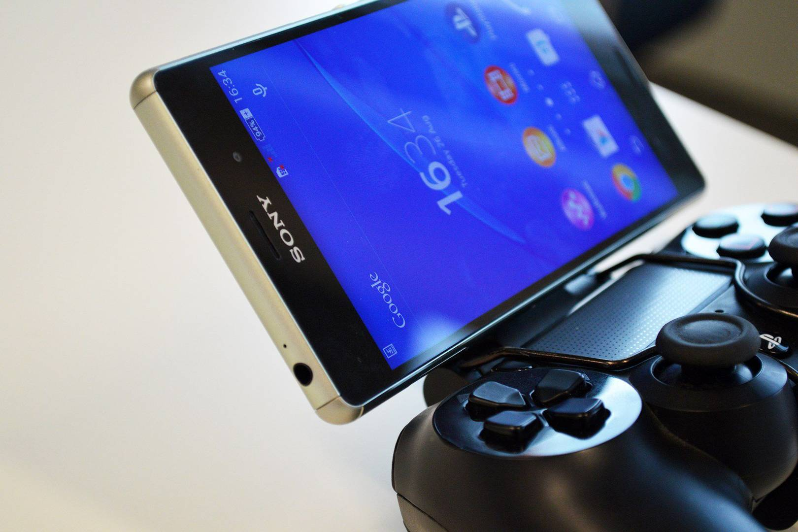 Sony Xperia Z3 Tablet Compact And Game Control Mount Hands On Wired Uk Seken