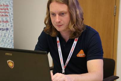 David Mound found his job at 3SDL through one of the Challenge's masterclasses