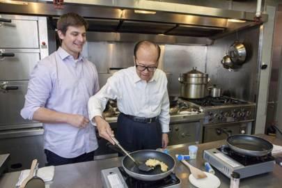 Li Ka-Shing invests $23m into fake eggs. No yolk