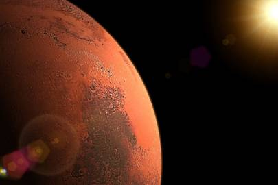 You can use the Amazon Alexa to learn more about Mars