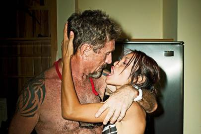 McAfee and another of his many girlfriends, 20-year-old Samantha Vanegas