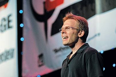 Oculus CTO John Carmack, pictured in 2009