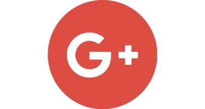 Google Plus logo landscape