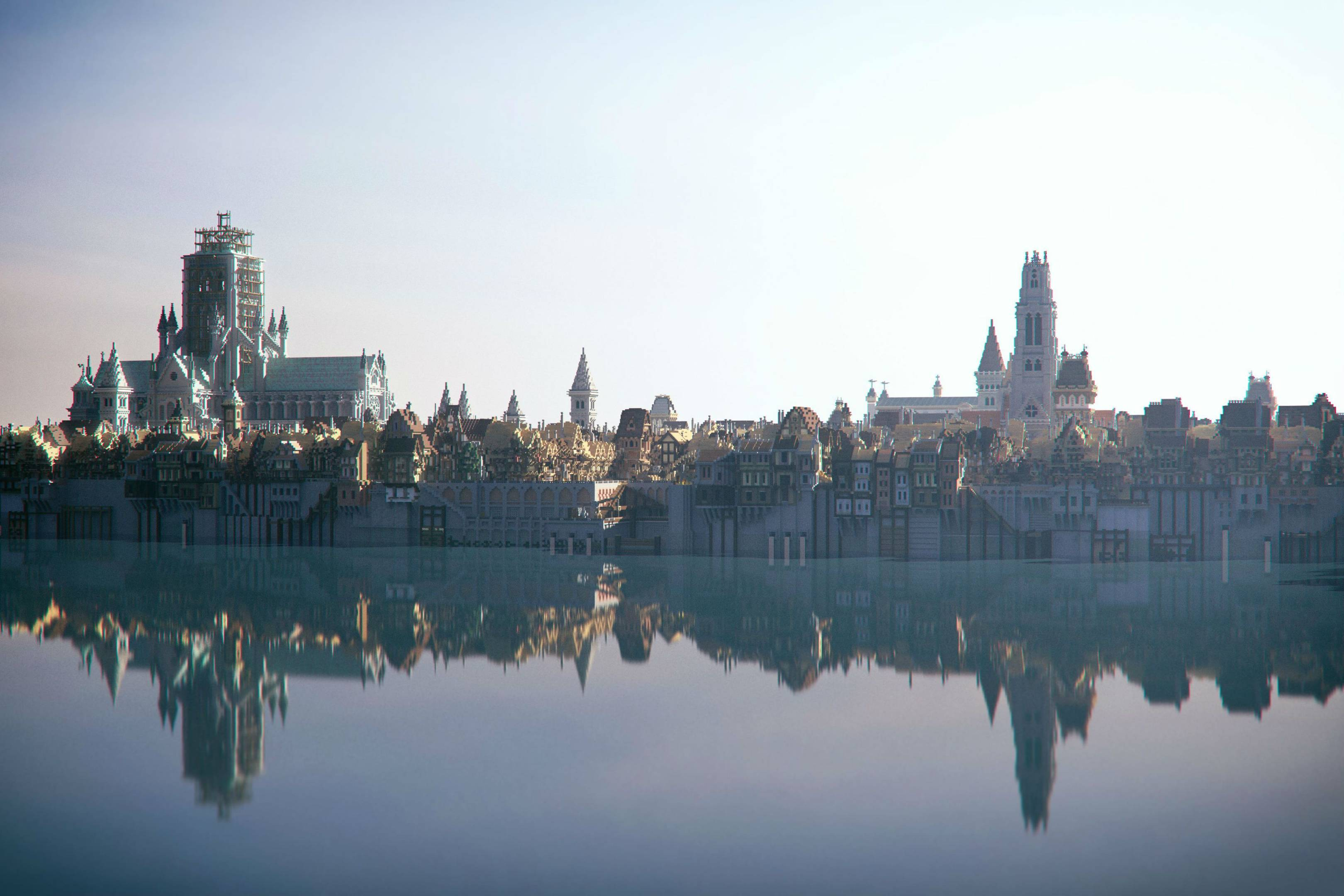 Minecraft Egypt Map.Minecraft Is Used By The Museum Of London To Recreate The Great Fire