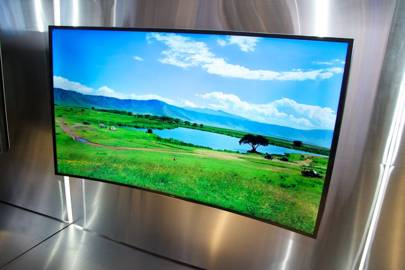Samsung's bendable TV