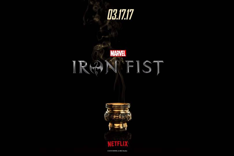 The Iron Fist Netflix release date set for 17 March 2017