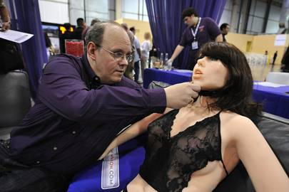 Life-size sexbot Roxxxy, designed by Douglas Hines, comes complete with artificial intelligence and synthetic skin