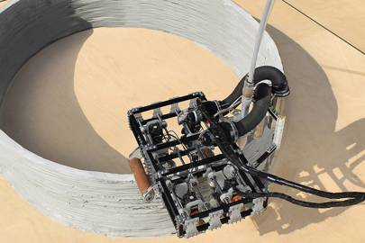 """A swarm of super cute, 3-D printing robots called """"Minibuilders"""" could replace construction workers in the near future"""