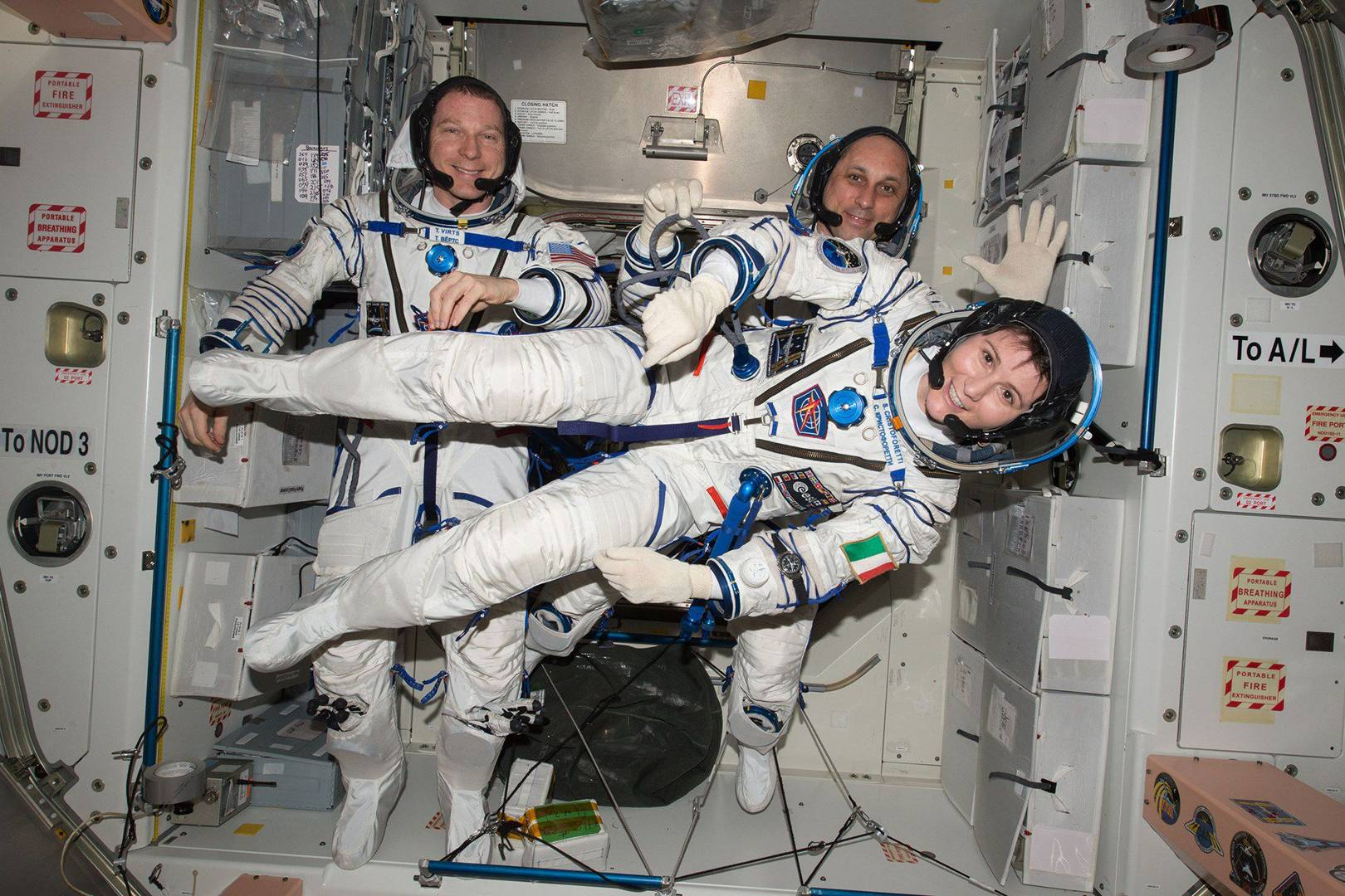 Samantha Cristoforetti S Most Memorable Moments Aboard The ISS