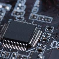 Unbranded microchip on PCB