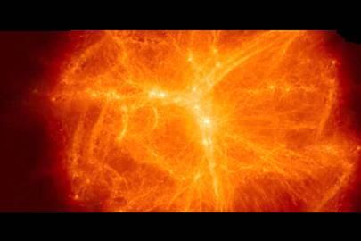 Supercomputer recreates birth of supermassive black hole