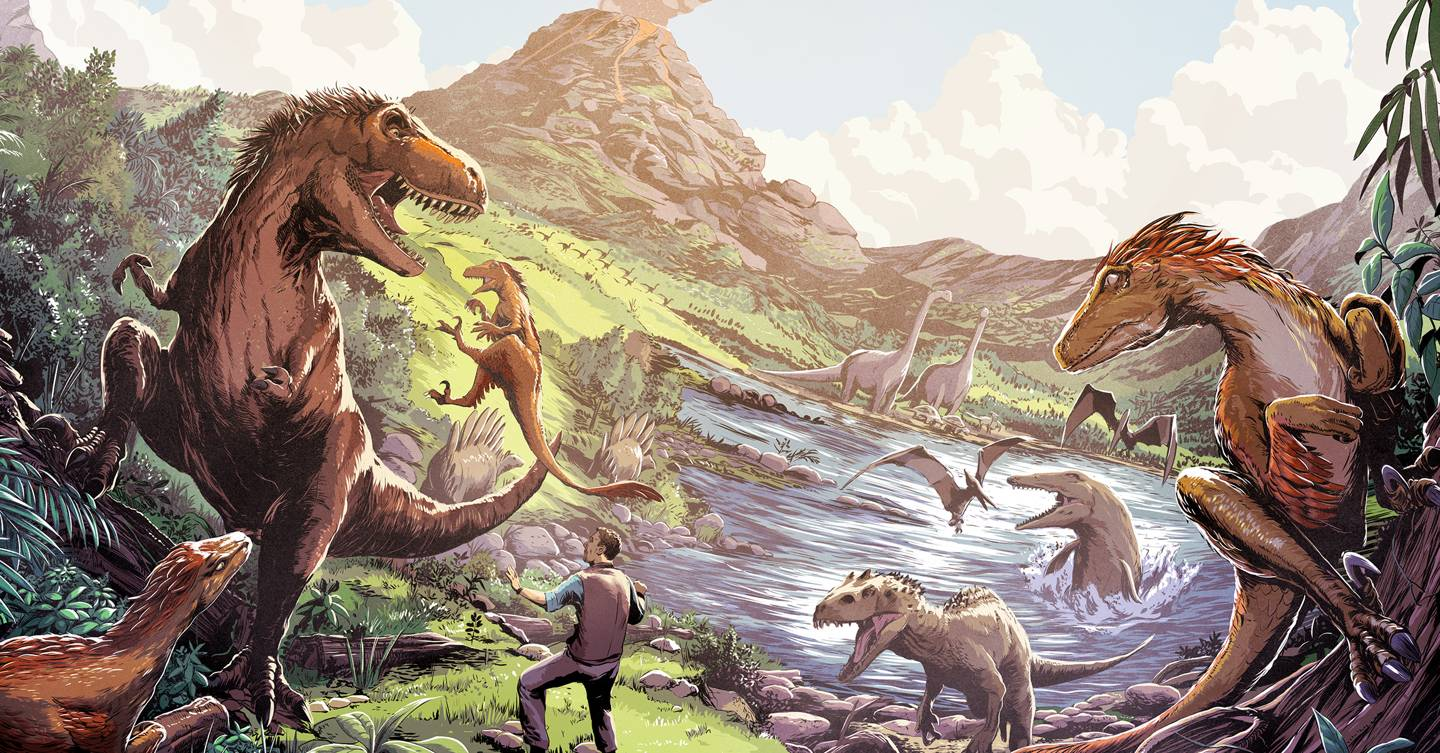 Everything you thought you knew about dinosaur colours is