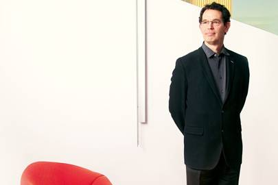 Neil Turok, photographed at the Perimeter Institute for Theoretical Physics in Ontario, Canada