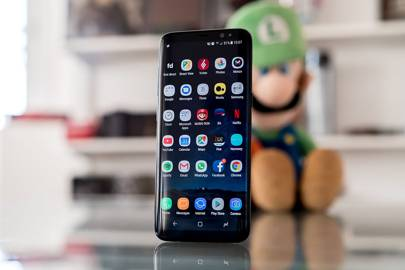 The Samsung Galaxy S8 has an IP68 rating