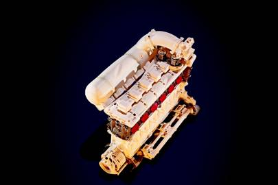 Le Mans race engine