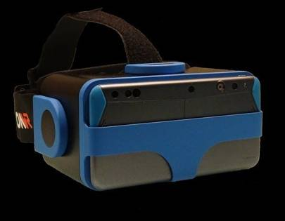 The IonVR headset with Intel's RealSense technology