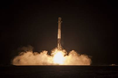 SpaceX's first successful landing of its Falcon 9 rocket booster took place on December 21 2015