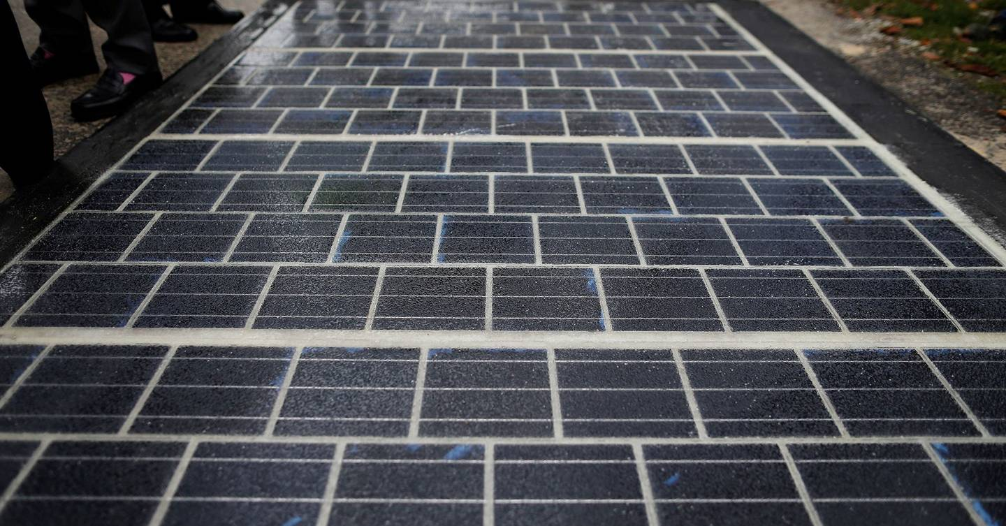World S First Solar Panel Road Opens In French Village