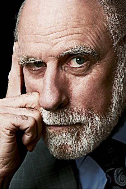 "Vint Cerf is co-chair of Campus Party, a cofounder of the Internet Society and known as one of the ""fathers of the internet"""