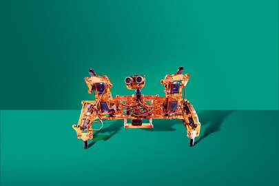 Hexapodal DIY bug-bot