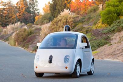 Google's latest self-driving car prototype has headlights, but no steering wheel or pedals