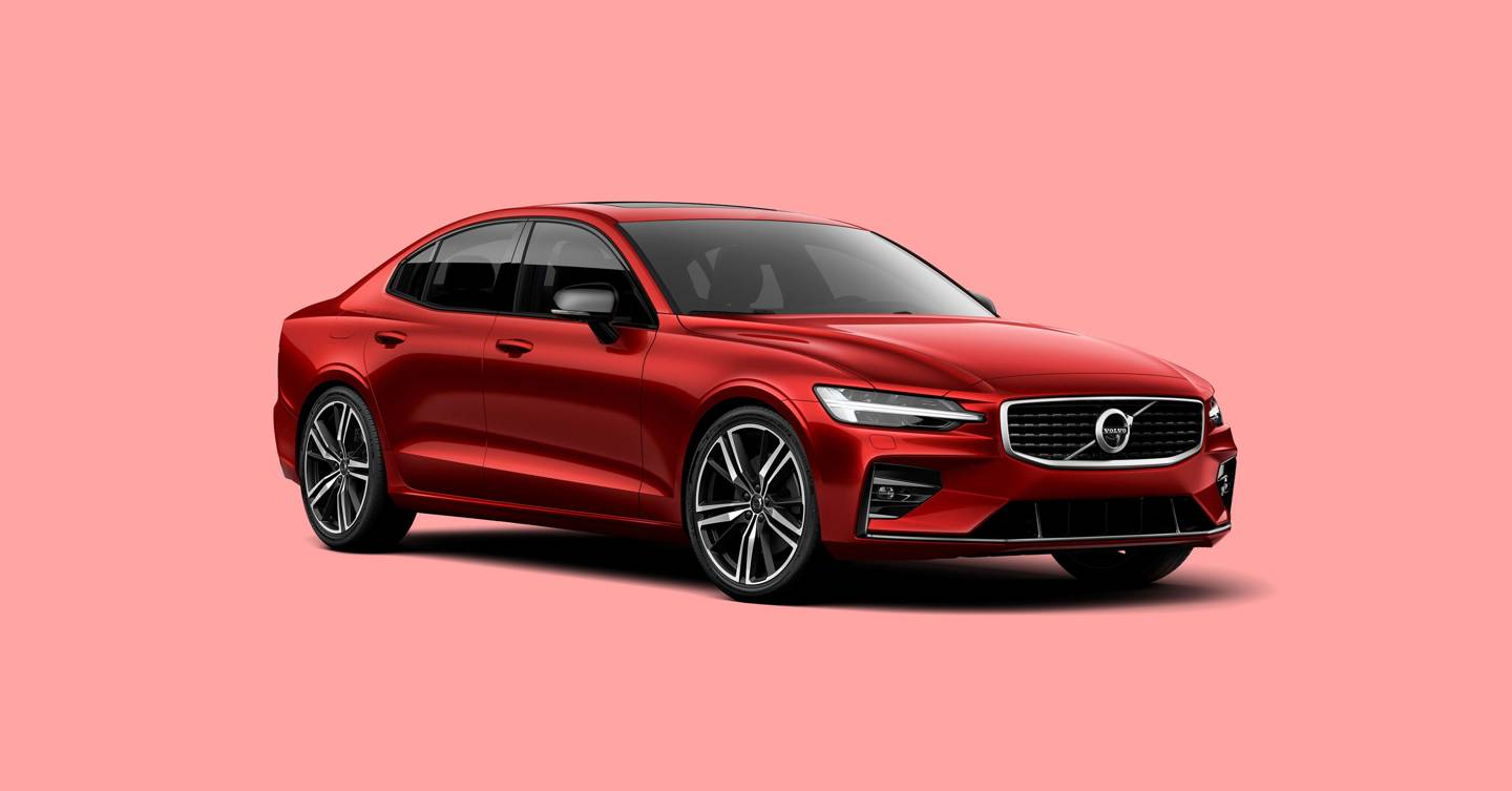Volvo S60 T8 Twin Engine is a subtle yet sporty hybrid saloon