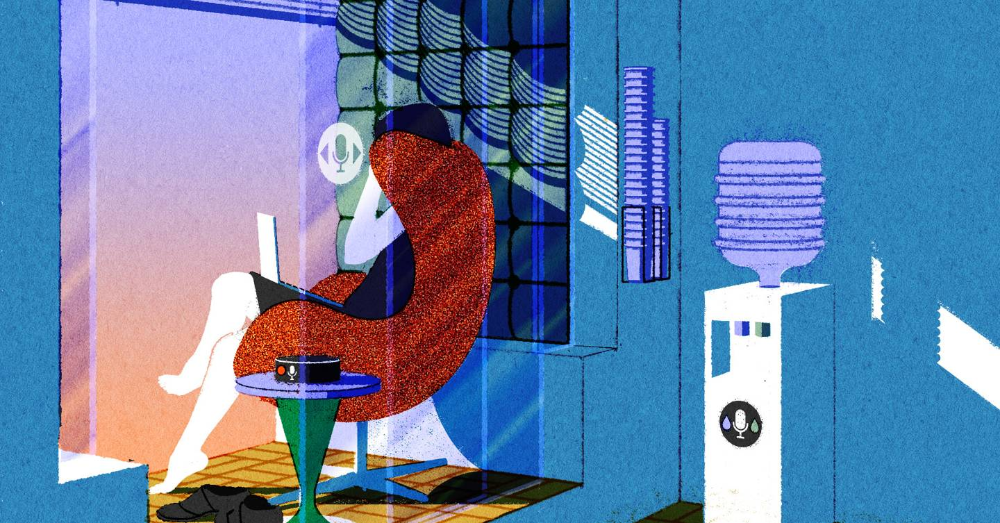 The rise of Alexa creates a dilemma for your open plan office