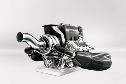 Renault's turbo-charged F1 engine for the 2014 season