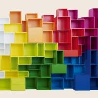 Cubit shelf units