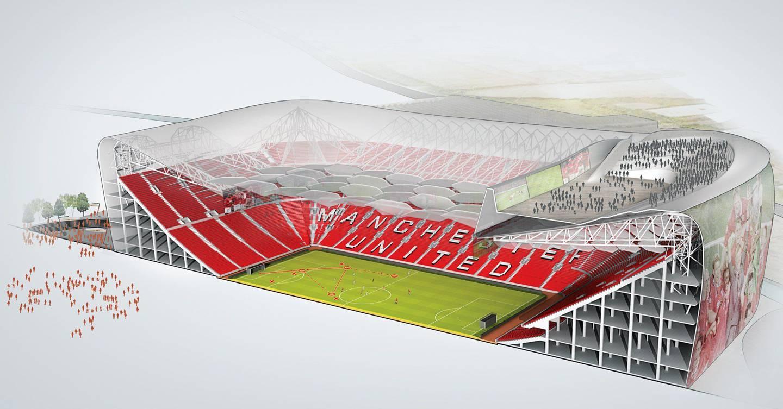 manchester united s stadium gets a high tech upgrade wired uk stadium gets a high tech upgrade