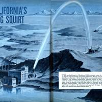 California's big squirt -- Mechanix Illustrated, 1951