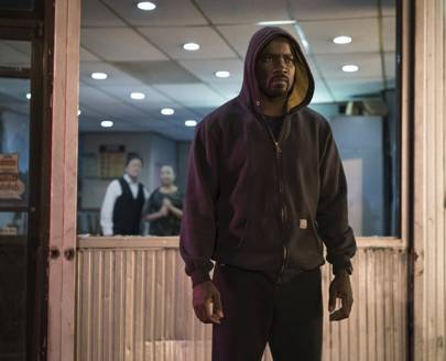 Mike Colter in[i] Luke Cage[/i]