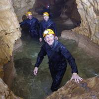 Tim Peake cave training