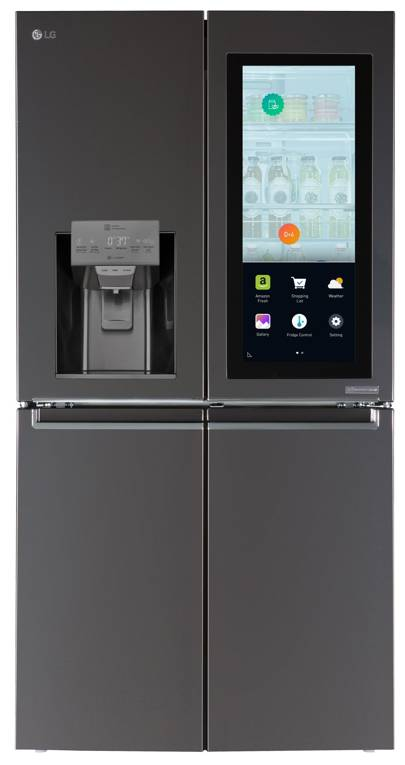 LG Smart InstaView fridge