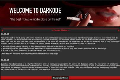 Hacker forum Darkode is back and more secure than ever