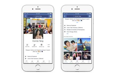 Facebook unveils new 'profile videos' in mobile update