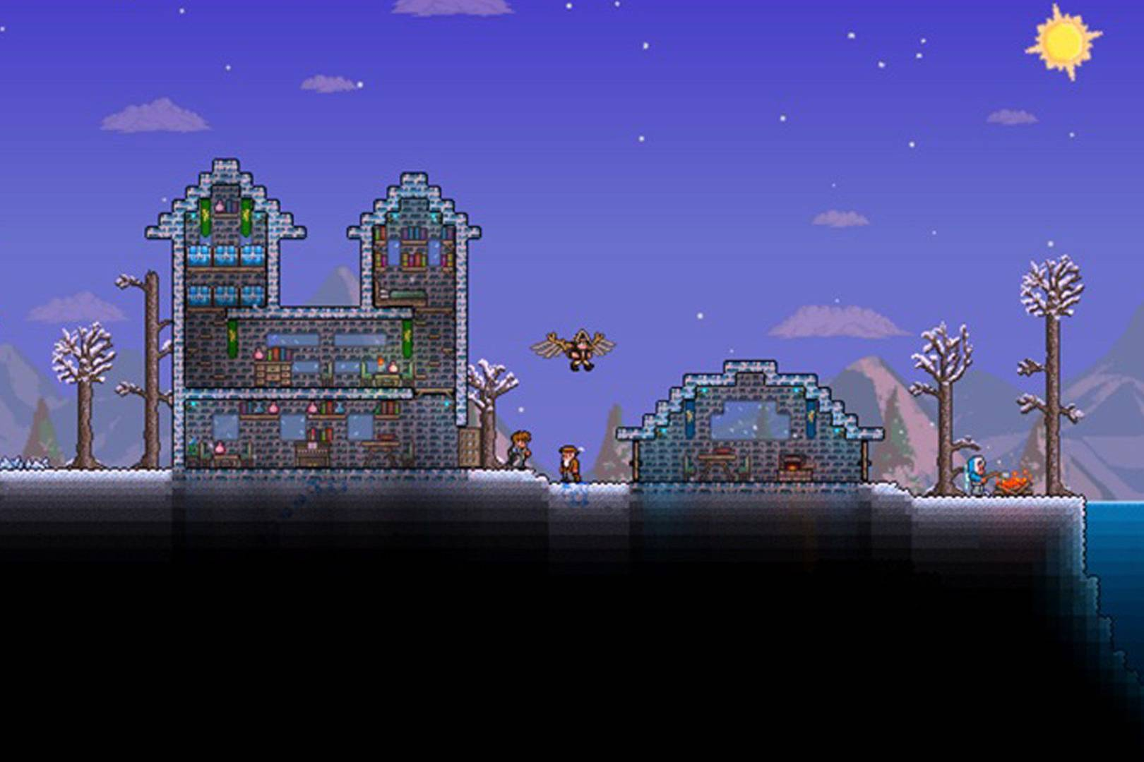 Terraria Christmas House.A Parent S Guide To Terraria Wired Uk