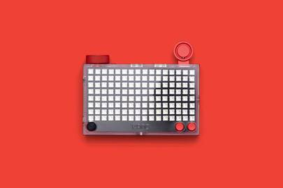 The Pixel Kit creates an interactive light board made up of 128 LEDs