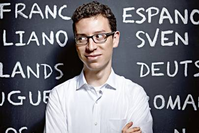 Users spend about 30 minutes per day on Luis von Ahn's Duolingo lessons