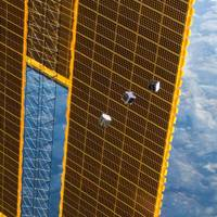 CubeSats released from the International Space Station in 2012