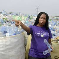 Founder of Wecyclers, Bilikiss Adebiy